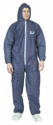 BLUE SPP COVERALL