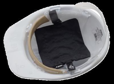 Refreshing helmet pad
